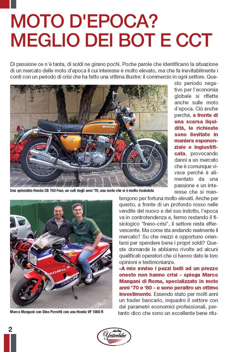 Yesterbike Guida alle moto d'epoca pag.16