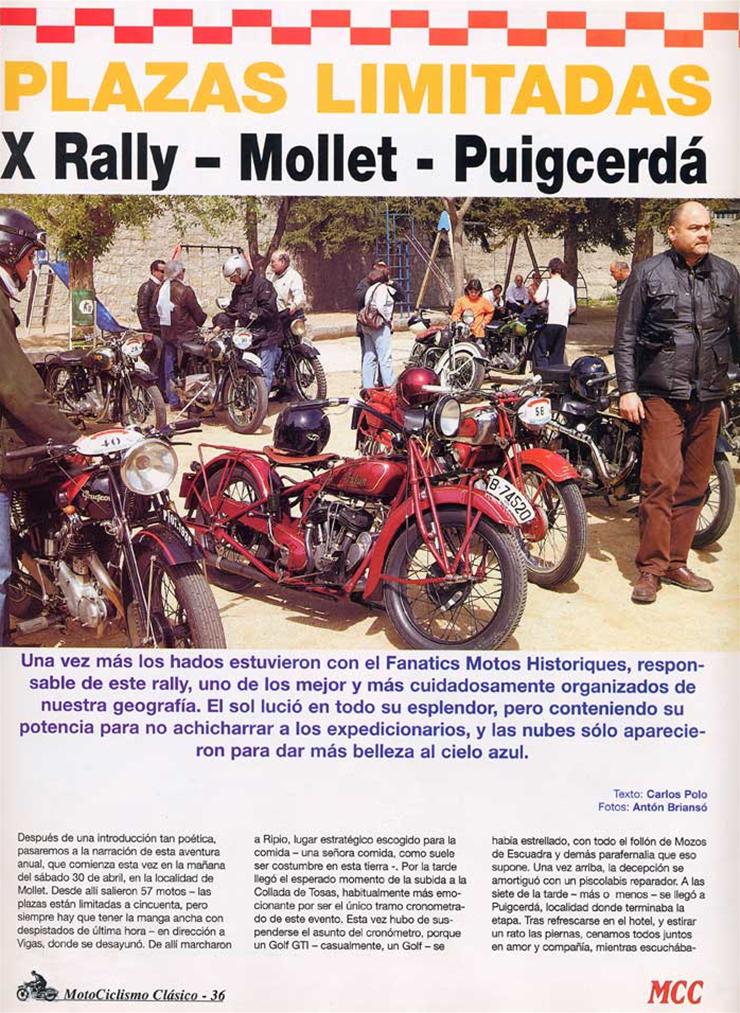 Motociclismo Classico Spagna 05-2005