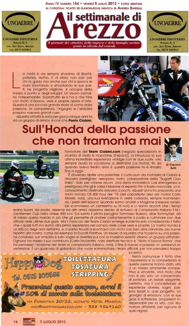 Il Settimanale di Arezzo 05-07-2013